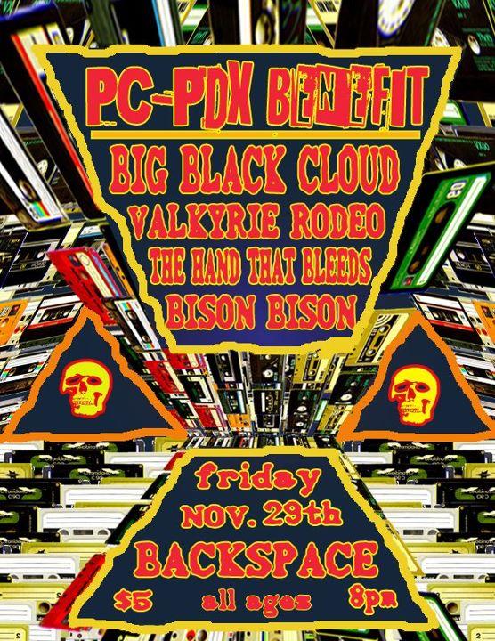 PC-PDX benefit @ Backspace!